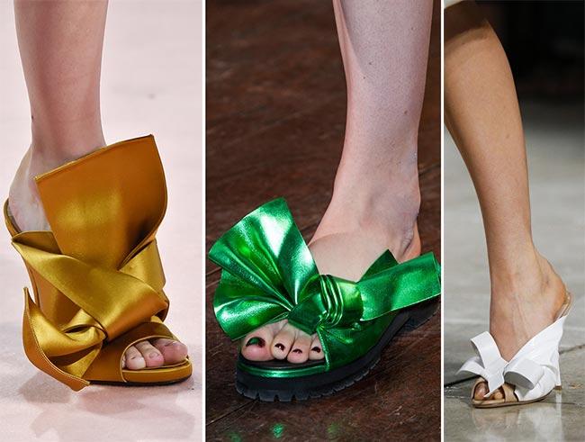 Обувь с бантиками фото туфли