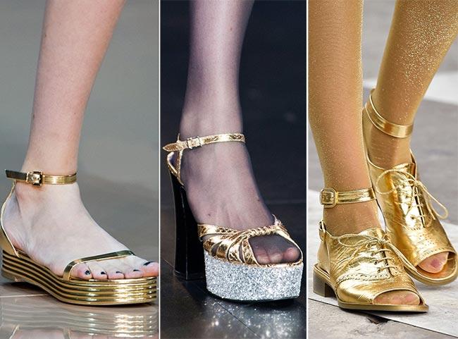 Блестящая обувь 2015 сандалии летние женские