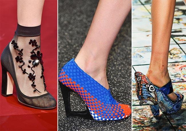 синие туфли фото