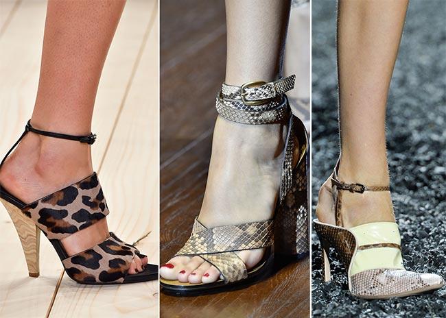 Обувь из кожи рептилий