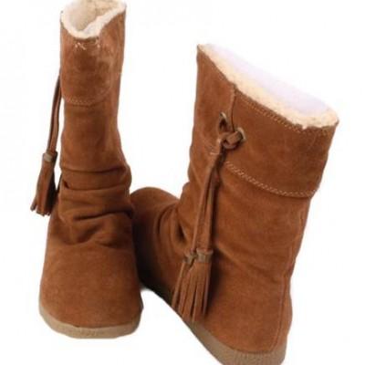 обувь замшевая