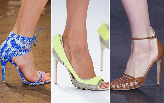 Туфли и босоножки на шпильке