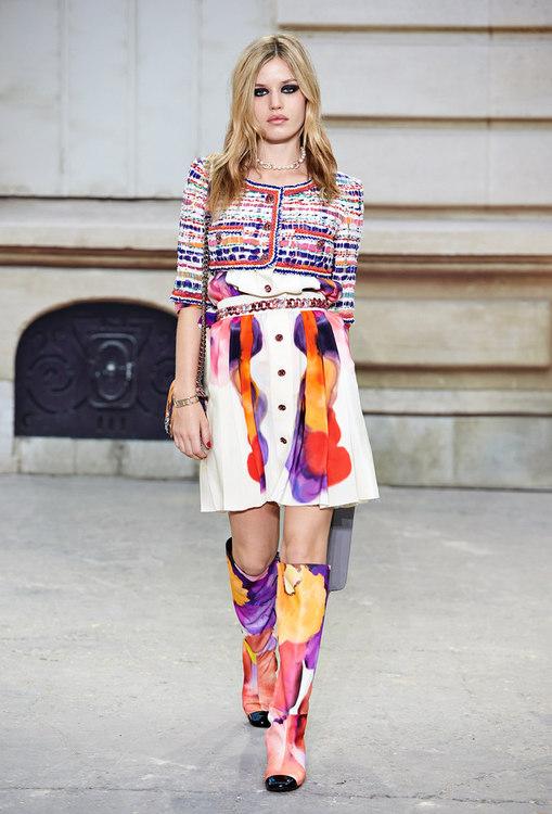 сапоги женские летние фото яркие красочные стильные коллекция мода