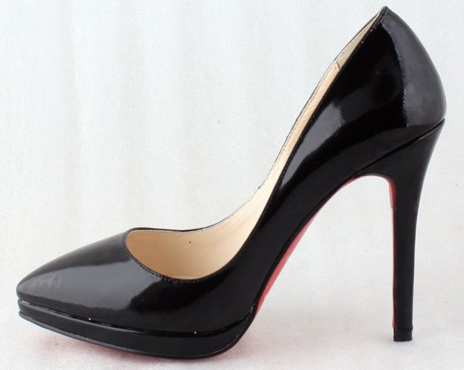 New-Styles-Black-Patent-Leather-Classic-Elegance-Vogue-Women-Sexy-Shoes