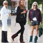 Женская зимняя обувь 2015: обувь с широким голенищем