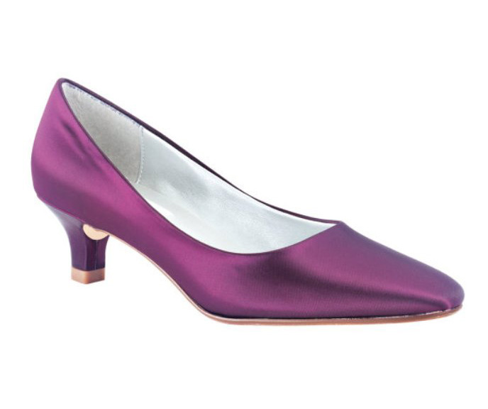 purple-bridal-shoes-low-heel