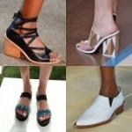 Весна — лето 2015 — 2016. Обувные тенденции на Неделе Моды