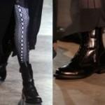 Как носить модную обувь?  Стиль милитари и хаки