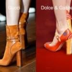 Обувь осень 2015 — широкие каблуки в тренде! Смотрите фото с показов