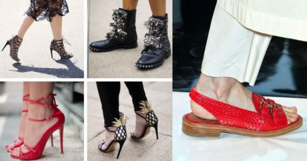 Обувь сезона весна-лето 2015