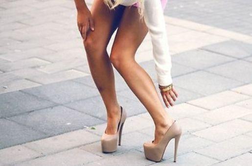 Туфли на ультравысоком каблуке