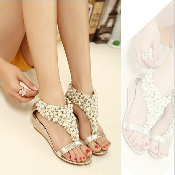 New-arrival-rhinestone-zipper-pearl-beaded-high-heels-gold-beige-black-flip-flops-wedges-sandals-women