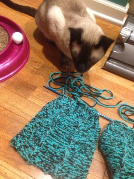Вязание тапочка, схема