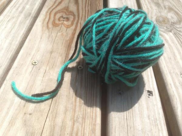 Пряжа для вязания тапочек