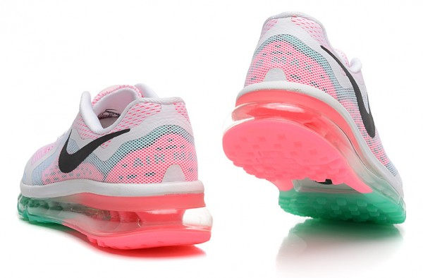 Women-Air-Max-2014-Nike-Running-Shoes-White-Pink-Green_3