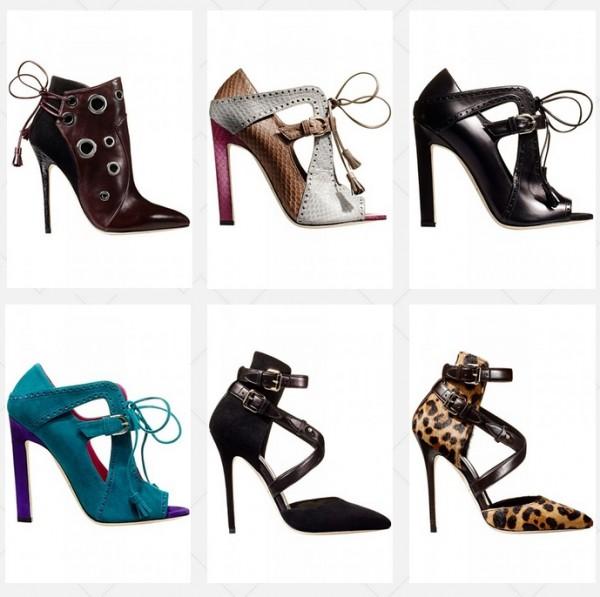 Женская обувь Brian Atwood осень-зима 2014-2015