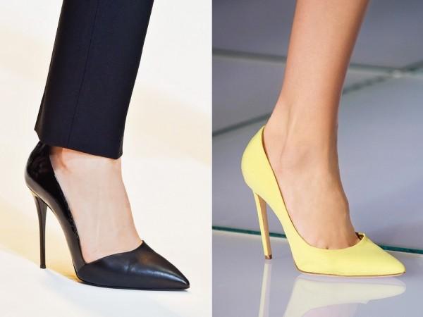 Модная обувь Mugler и Fausto Puglisi 2015