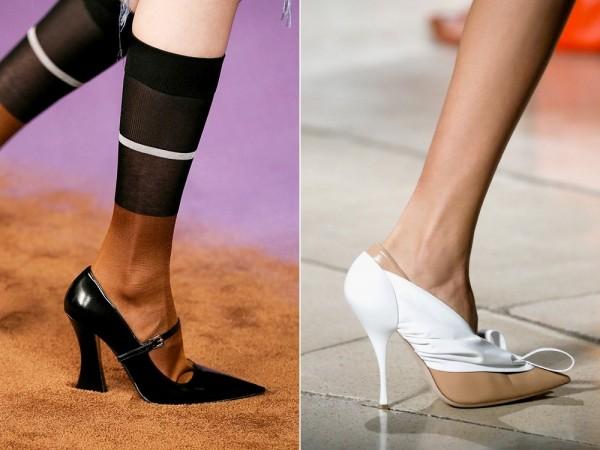 Модная обувь Prada и Miu Miu 2015