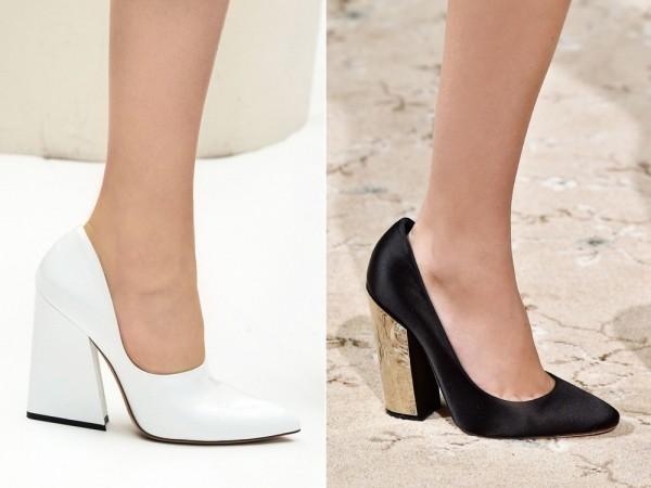 Модная обувь Acne и Giambattista Valli 2015