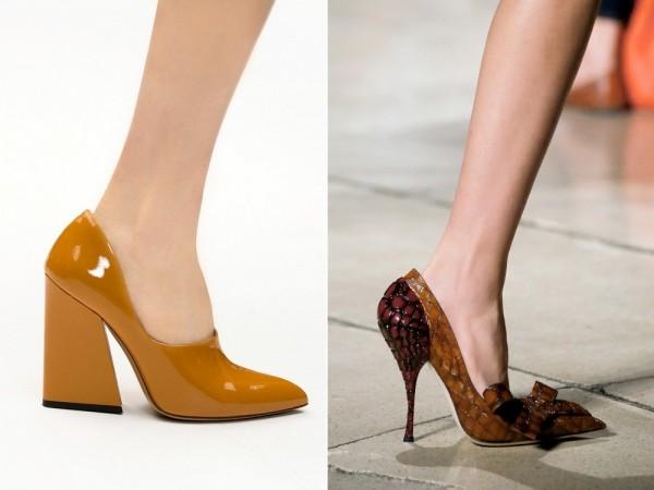 Модная обувь Acne и Miu Miu 2015