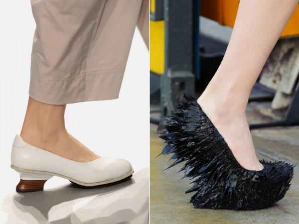 Модная обувь Issey Miyake и Iris van Herpen 2015