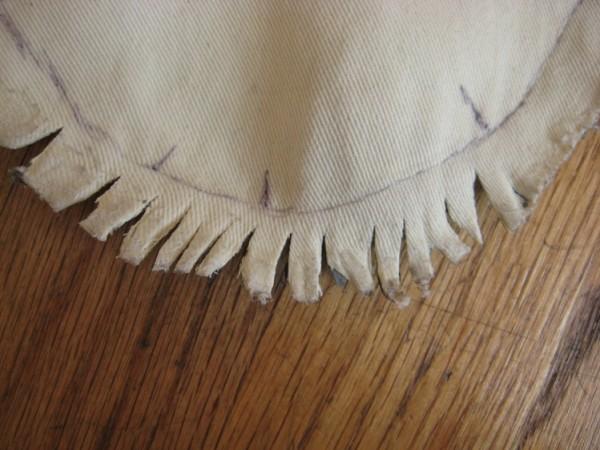 Носок тапочка