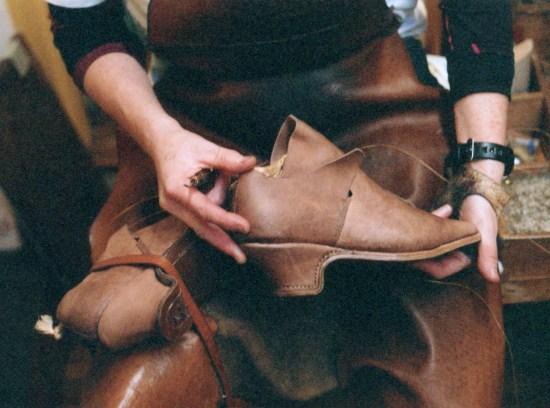 Обувь XVII века