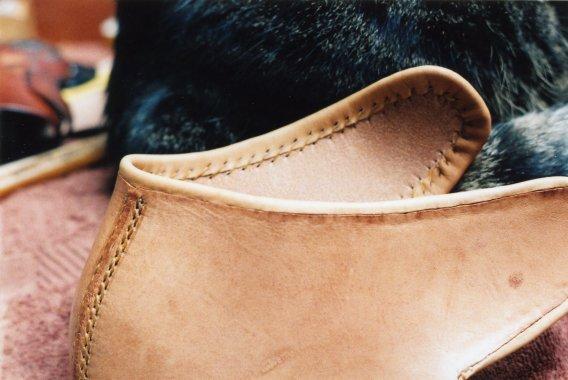 Задняя часть ботинок