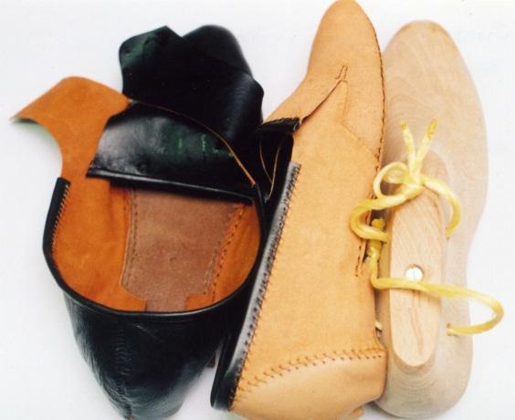 Пример мужских туфель