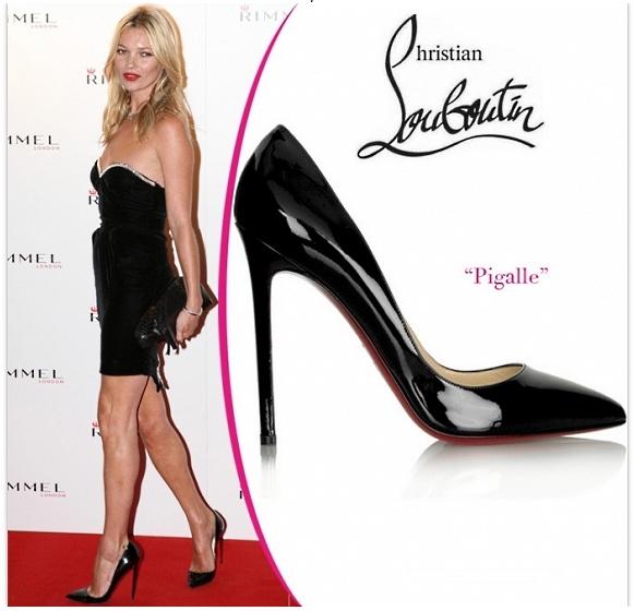 Кейт Мосс в обуви от Christian Louboutin