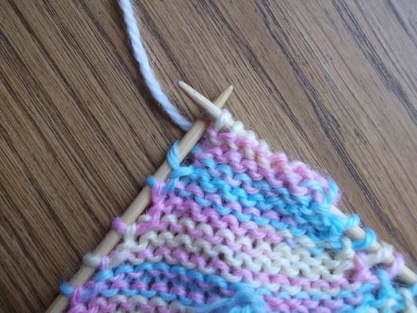 Вязание носка спицами