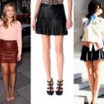 Как носить обувь с кожаной юбкой стильно! 22 способа