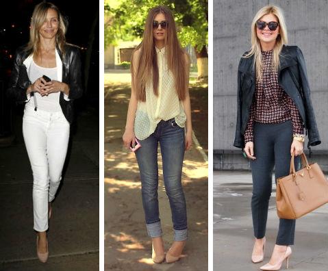 Светлые туфли: с чем носить