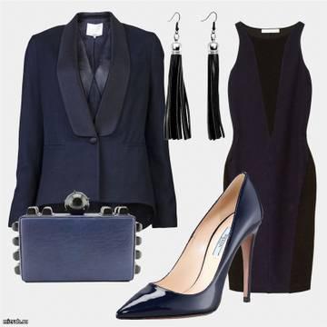 Синие туфли: с чем носить?