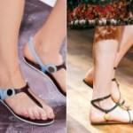 Как носить сандалии? Знаменитости показывают пример