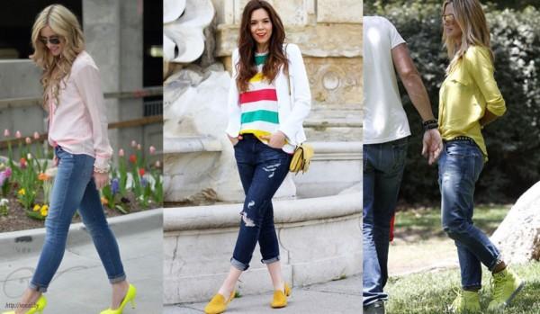 желтые туфли 3