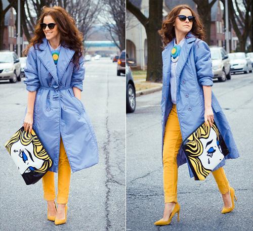 желтые туфли 5