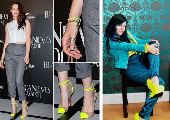 желтые туфли 6