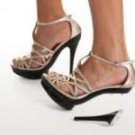 Как отремонтировать туфли на высоких каблуках