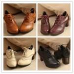 Туфли — «оксфорды» для женщин: с чем носить