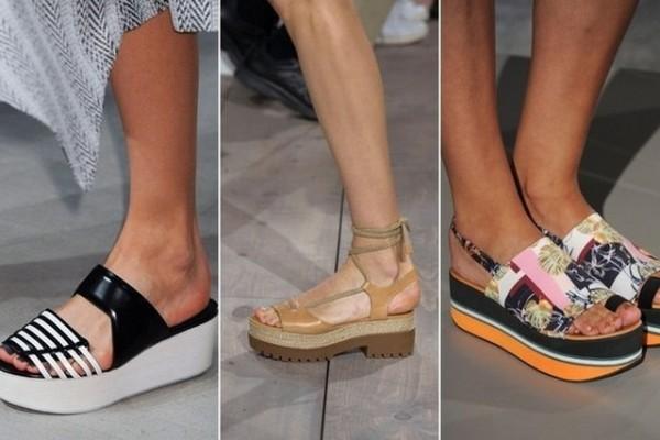Обувные магазинные тренды весна лето 2015 – 2016 FLATFORMS  0cf4083a7a65c
