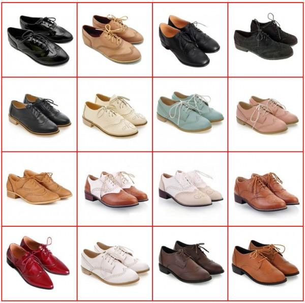 женские туфли оксфорды 2015- 2016