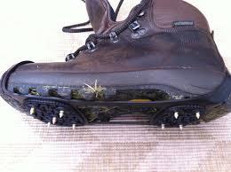 Обувь с шипами - в самый раз для гололеда