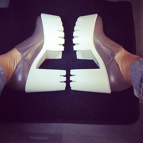 Ботинки на «тракторной» подошве от Stella McCartney