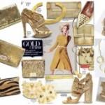 Золотые сапоги: 3 модных образа на любой праздник