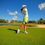 Стильные женские туфли для гольфа