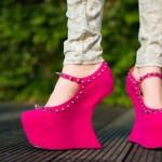 Туфли на платформе – удобство и красота!