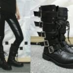 Черные сапоги в моде!