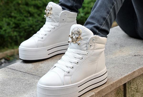 Как сохранить свои белые кроссовки белыми, Модная обувь