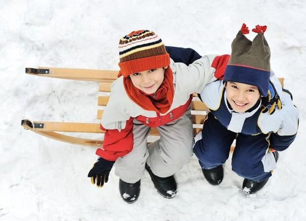 дети-обувь-зима